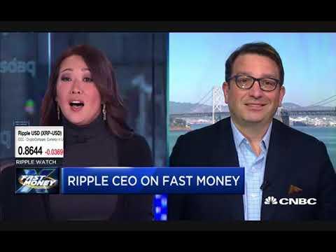 Ripple CEO Brad Garlinghouse Talks Crypto