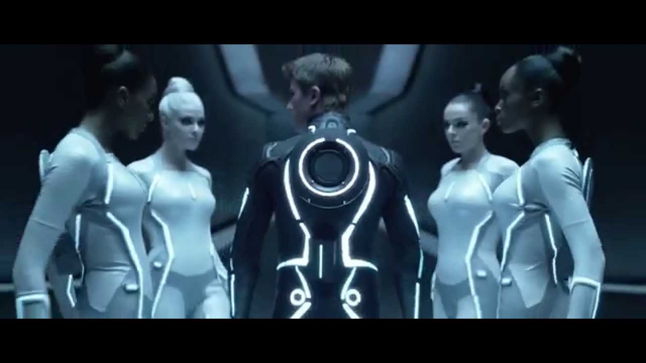 tron: legacy sirens full scene - youtube