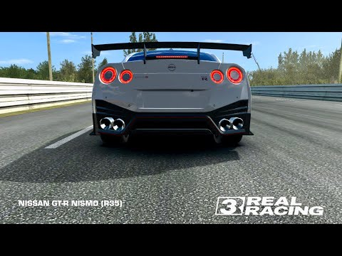 リアルレーシング3 GT-R NISMO R35