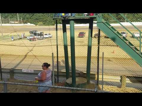 Moler raceway Park 8-25-19 crazy compact heat race 1