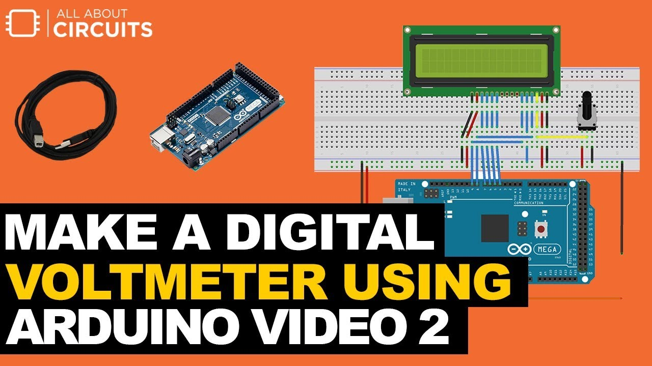 Make a Digital Voltmeter Using an Arduino