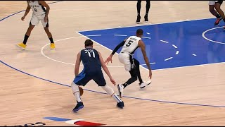 Luka Doncic Turned Dejounte Murray Around With A Nasty Cross