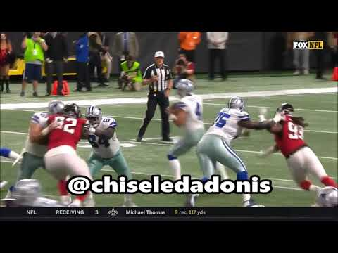 Chaz Green & Byron Bell Give Up 6 Sacks To Adrian Clayborn