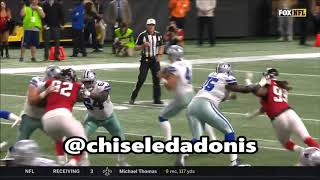 Chaz Green  Byron Bell Give Up 6 Sacks To Adrian Clayborn