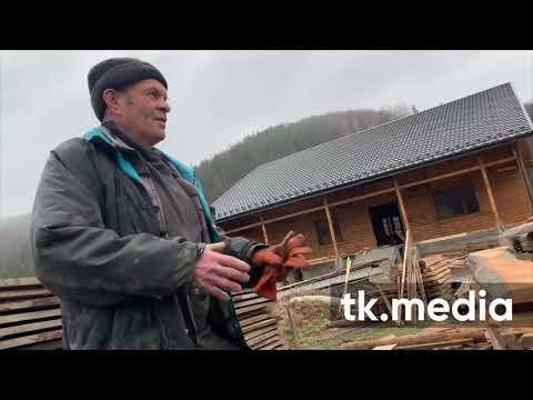 Экс-нардеп Михаил Гаврилюк построил дом в Карпатах у озера и водопада