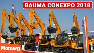 Bauma CONEXPO India 2018 | Special Feature | Motown India