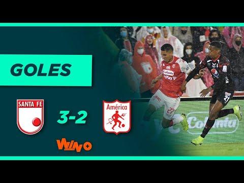 Santa Fe vs. América (3-2) | Superliga BetPlay 2021 - Final - Vuelta