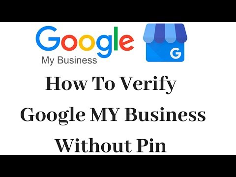 How To Verify Google My Business Without Verification Pin - YouTube