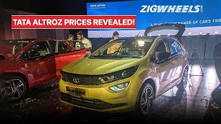 ZigFF: Tata Altroz Launched In India | All You Need To Know!