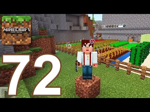 Minecraft: Pocket Edition - Gameplay Walkthrough Part 72 - Survival (iOS, Android)