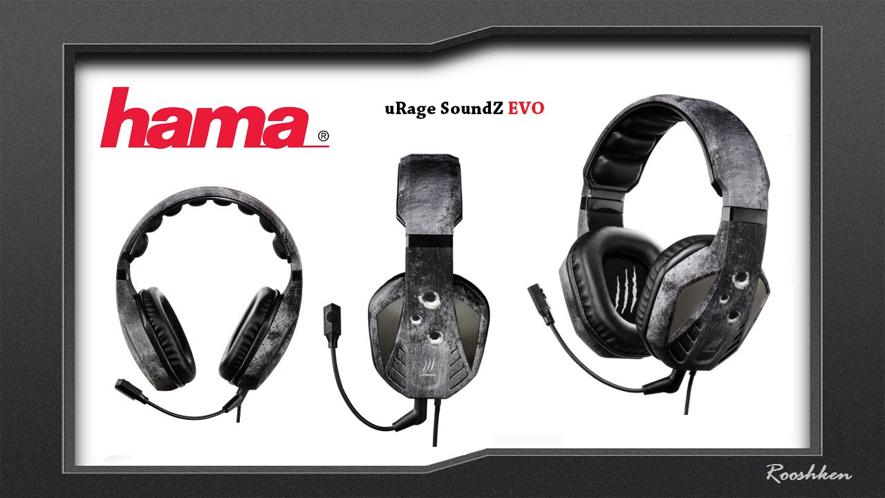 d9c58097d4e Hama uRage SoundZ Evo - Rzut oka na ciekawe słuchawki na USB - YouTube