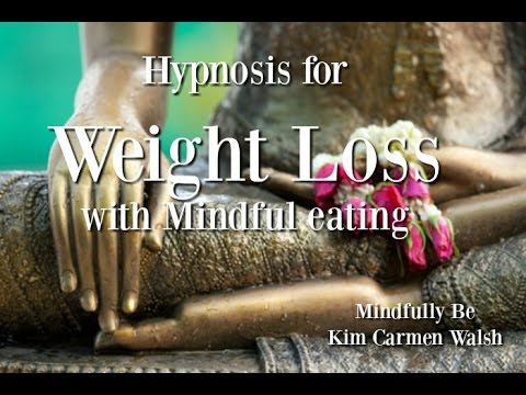 Hypnosis for weight loss and mindful eating