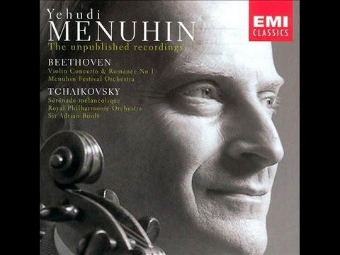 Yehudi Menuhin, Beethoven Violin Concerto in D major Op.61