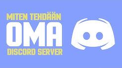 Miten tehdään Oma Discord Server Kännykällä! Discord ohje 2020