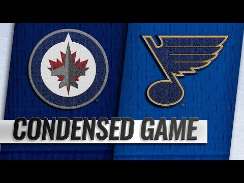 10/04/18 Condensed Game: Jets @ Blues