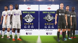WHO WOULD WIN THE PREMIER LEAGUE ALL STARS GAME!?! FIFA 18 EXPERIMENT