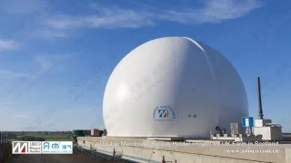 Double Membrane Biogas Holder Project for UK Farm in Scotland