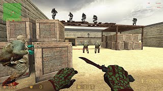 CSS: Zombie COVID-19 Mod - zm_EH_Solo on Zombie Hunting Elite (ALL SECRETS)