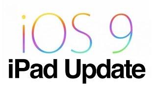 How to Update to IOS 9 iPad mini Ipad 2 iPad 3 iPad 4 IPad Air iPad Pro- FULL VERSION(, 2015-09-17T10:59:33.000Z)