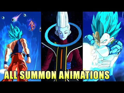 All Summon Animations 2020 - Dragon Ball Legends