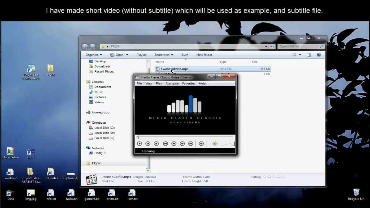 How to add subtitle to movie embed into movie simple easy youtube ccuart Choice Image