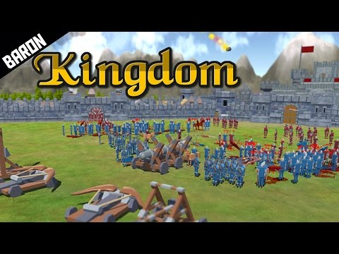 Castle Sieges Meets Totally Accurate Battle Simulator - Kingdom Gameplay