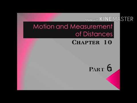 Science_Class6_Motion and Measurement of distances