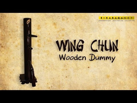 Unboxing and Assembling Wing Chun Man Wooden Dummy