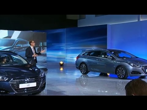 Hyundai i40 facelift launch show i40