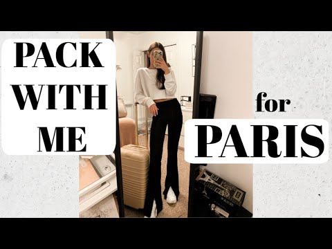 HOW TO PACK A CARRY ON Paris Edition | Carly Medico