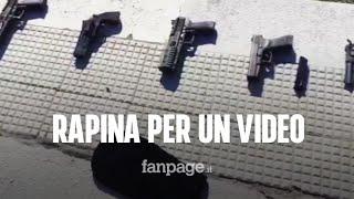 Neomelodico e rapper fingono assalto a portavalori per un video: bloccati dai Carabinieri