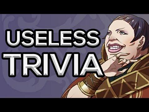 Useless Fire Emblem Trivia