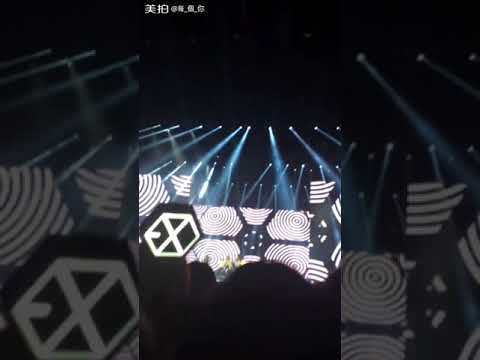 My EXO'luXion Experience PT. 1 (crappy filming I'm sorry)