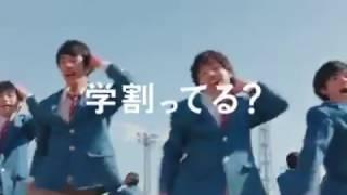 SoftBank的新廣告廣瀬鈴,大原櫻子,樋口可南子,上戶彩一起來跳舞~