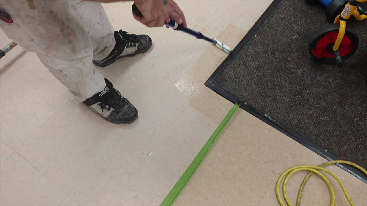 Save On Maintenance Cost Using Clear Coat Vinyl On Tile Floors - Clear coat for tile floors