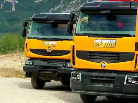 Renault Trucks présente l'Optitrack pour ses camions 4x4
