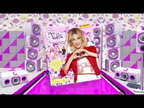 Panini album de stickers violetta saison 3 youtube - Violetta saison 3 musique ...