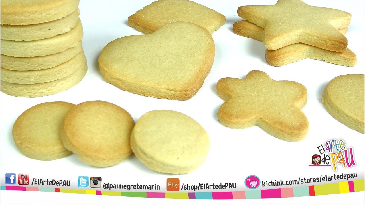 Receta De Galletas De Mantequilla Para Decorar