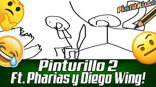 Pinturillo 2 | Grandes obras de arte! -Nicko GEX Ft. Pharias MC y Diego Wing Gamer.