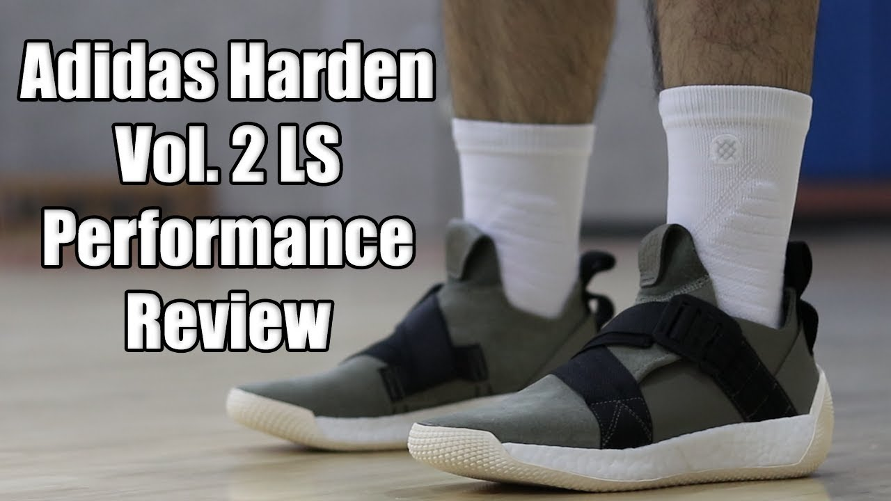 95ffabeb8b9 Adidas Harden Vol 2 LS Performance Review - YouTube