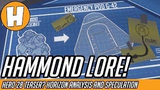 Overwatch - New Hammond Lore! Hero 28 Teaser or Not? | Hammeh