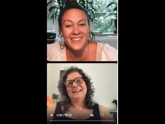 Me & Maggie Tatum - discussing authentic living, relating & death by comparison!