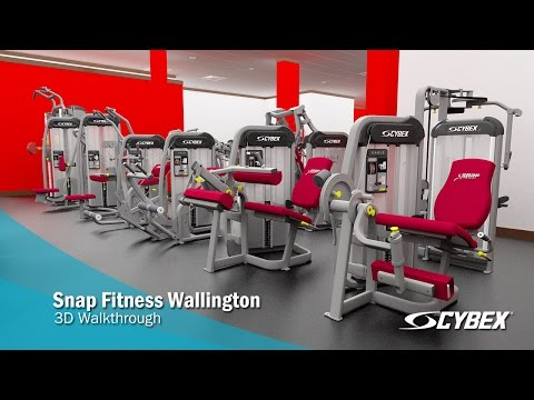 Snap Fitness Wallington - 3D Walkthrough