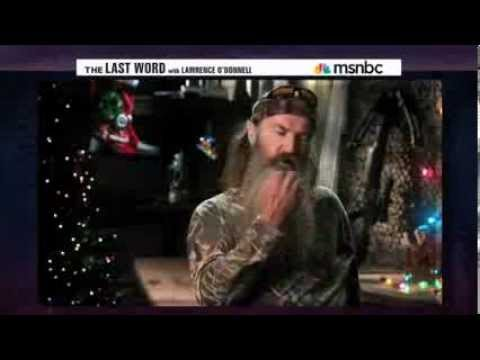Lawrence O'Donnell Condemns Phil Robertson... But Not for His Comments About Homosexuality