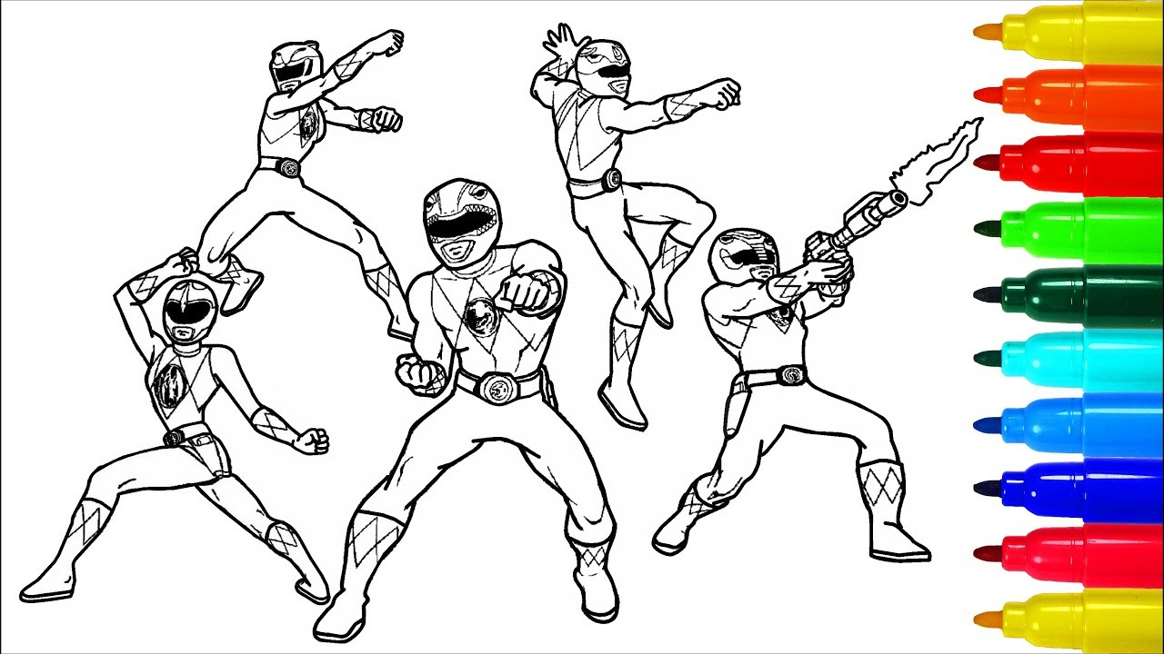 Power Rangers Samurai Transformers Coloring Pages