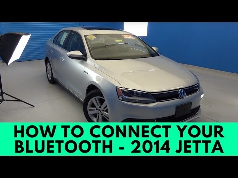 2014 Volkswagen Jetta: How to Connect Bluetooth