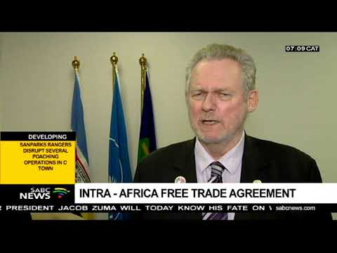 Intra - Africa free trade agreement