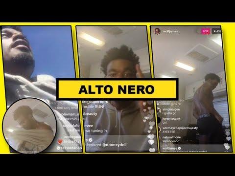 Luke Jame Instagram Live Video | Singing mind your Business & More | 18/10/2017