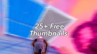 25+ Free Fortnite Thumbnails (Motion Blur + SFM) (GFX Pack)