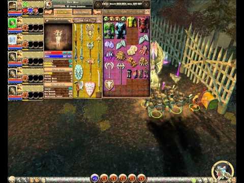 Dungeon Siege 2 + Broken World Save Game Dindo Todos Os Sets